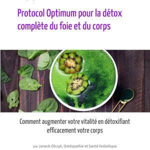 Protocol Optimum Detox complete du corps et du foie