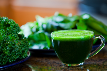 green juice spring fasting jeune du printemps avec jus vert
