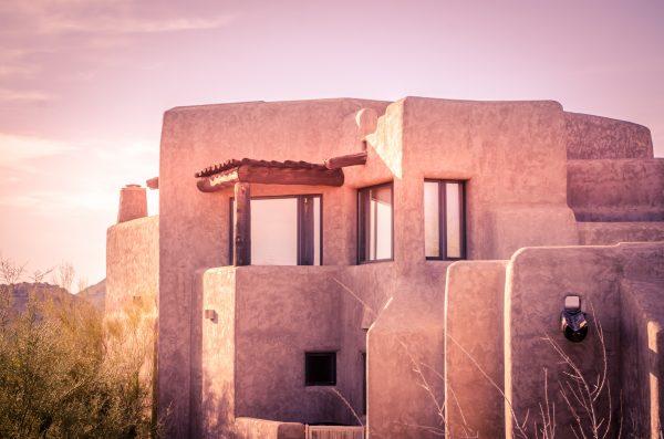 adobe earth wall housing